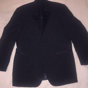Calvin Klein Black Tuxedo Suit